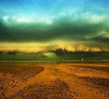 Shelf cloud by Mel Brackstone