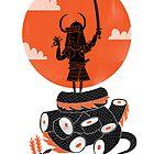 Samurai Sushi by LordWharts