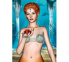 Fairytale Mermaid Photographic Print