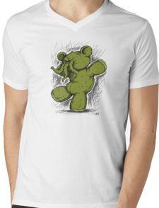 Ctulhu - Lovecraft's Teddybear Mens V-Neck T-Shirt