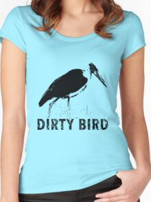 dirty bird Women's Fitted Scoop T-Shirt