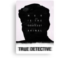 True detective Canvas Print