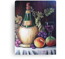 CHIANTI STILL LIFE Canvas Print