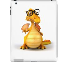 A smallish yellow dragon iPad Case/Skin