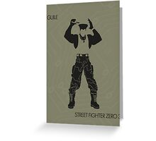 Guile Greeting Card