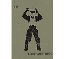 Guile Photographic Print