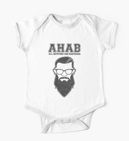ALL HIPSTERS ARE BASTARDS - Funny (A.C.A.B) Parody  Kids Clothes