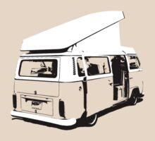 VW Camper Early Bay Open Roof by splashgti