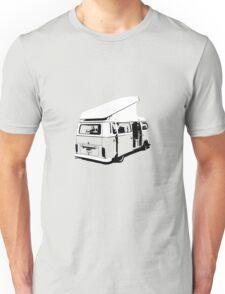 VW Camper Early Bay Open Roof Unisex T-Shirt