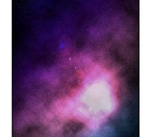 Space galaxy phone case by wiseguyshirts