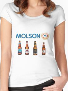Molson Women's Fitted Scoop T-Shirt