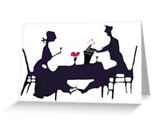 The Anniversary Couple Greeting Card