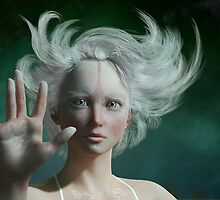 White Faun - mystery fairy by Britta Glodde