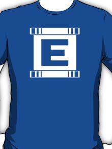 Blue Bomber - Minimalist T-Shirt