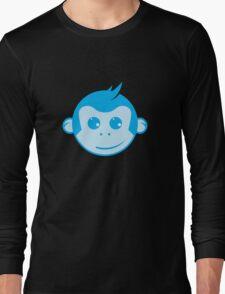 Blue Monkey Long Sleeve T-Shirt