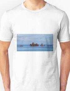 Snorkellers paradise (panorama) Unisex T-Shirt