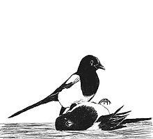 Magpies from Amelia's Song by OmandOriginal