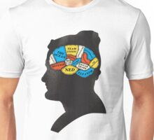 Zissou_Phrenology Unisex T-Shirt