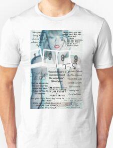 Taylor Swift 1989 Lyrics T-Shirt