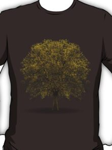 tree isolated over white T-Shirt