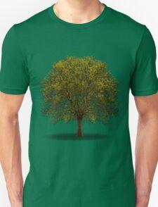 tree isolated over white Unisex T-Shirt
