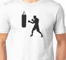 Boxing punching bag Unisex T-Shirt