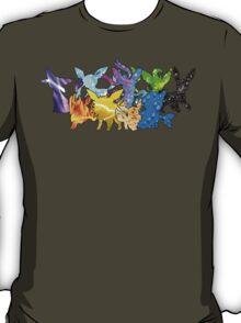 """The Dream Team"" - X & Y Eeveelutions T-Shirt"