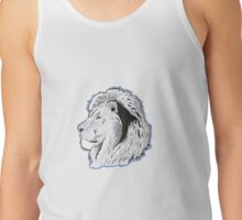 Lion Profile Tank Top
