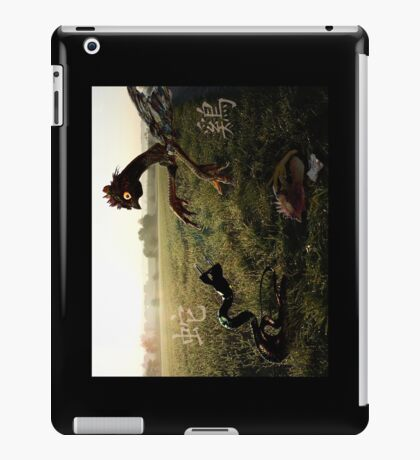 Mr. Snake and Ms. Chicken iPad Case/Skin