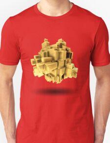 Gold abstract T-Shirt