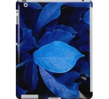 drops on blue iPad Case/Skin