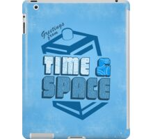 Greetings From Time & Space iPad Case/Skin