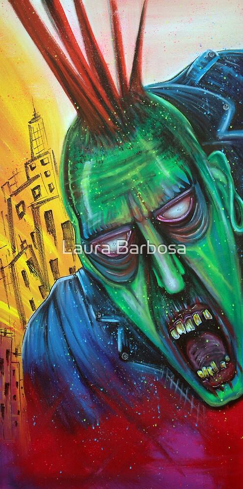 Punk Rock Zombie by Laura Barbosa