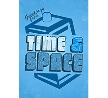 Greetings From Time & Space Photographic Print