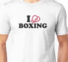 I love boxing gloves Unisex T-Shirt