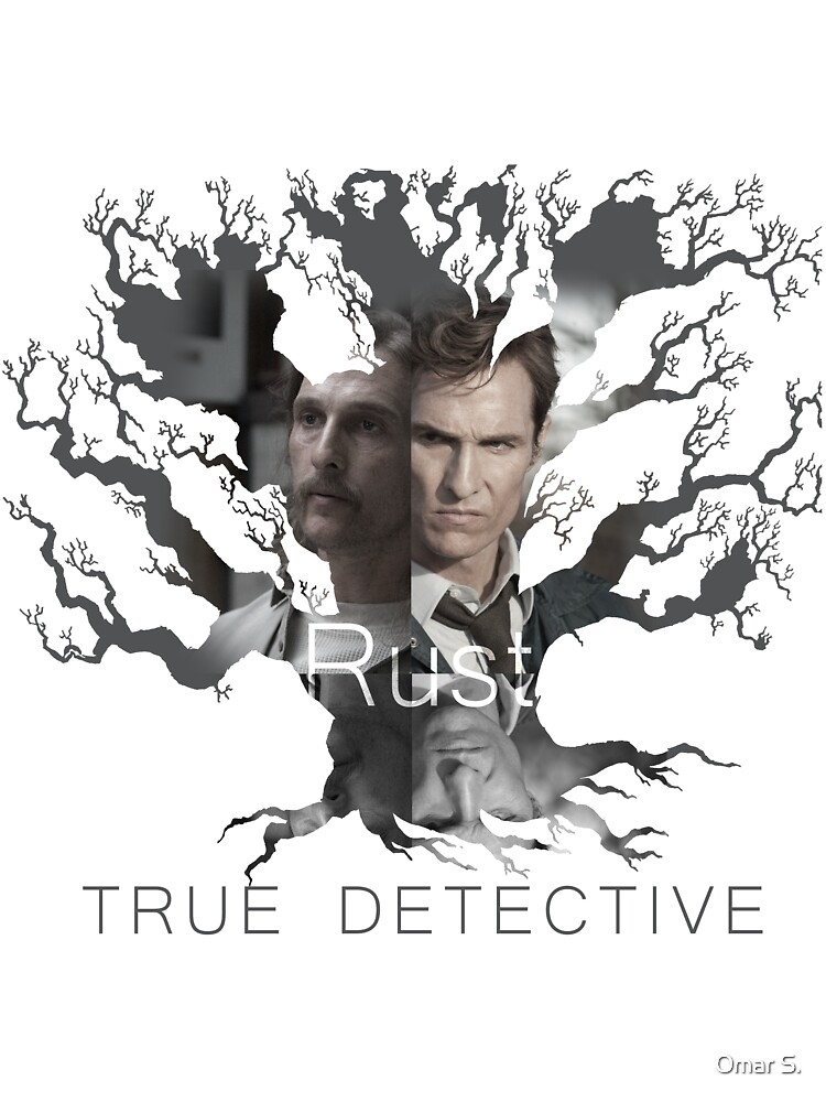 Rust Cohle tree from True Detective, HBO by Omar S.