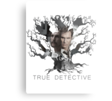 Rust Cohle tree from True Detective, HBO Metal Print