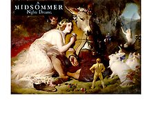 A Midsummer Night's Dream; Shakespeare by TOM HILL - Designer