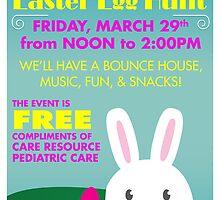 Easter Egg Hunt flyer by omar305