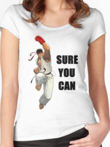 Shoryuken! Women's Fitted Scoop T-Shirt