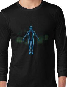3d human  Long Sleeve T-Shirt