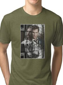 Rust Cohle 1995-2014 from True Detective, HBO Tri-blend T-Shirt