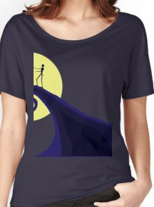 Tim Burton's Nightmare Before Christmas Women's Relaxed Fit T-Shirt