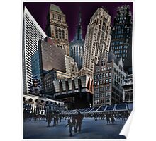 Bryant Park Collage Poster