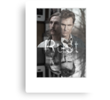 Rust Cohle 1995-2014 from True Detective, HBO Metal Print