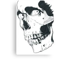 Evil Dead Skull Canvas Print