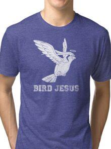 Bird Jesus Shirt Tri-blend T-Shirt
