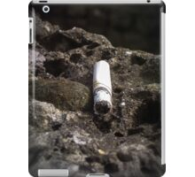 the last cigarette iPad Case/Skin