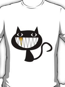 Cat Gold Smile T-Shirt