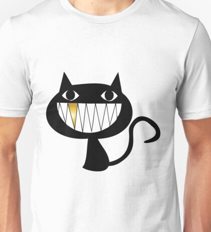 Cat Gold Smile Unisex T-Shirt